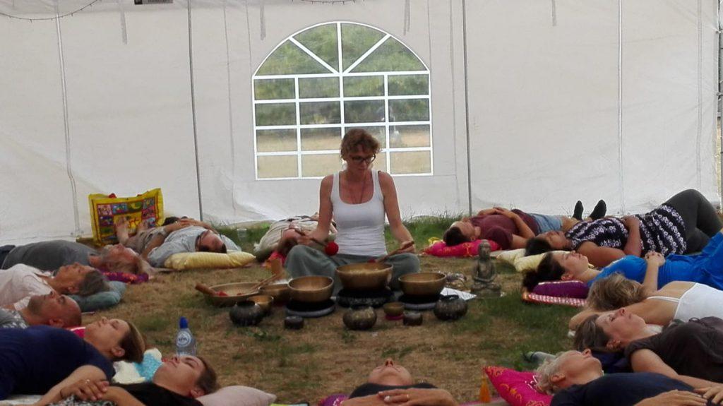Klankreis met meditatie bij Landgoed Quadenoord I Balans in jezelf