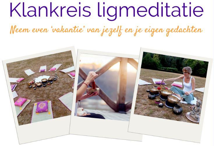 Geniet van een heerlijk ontspannen klankschalen ligmeditatie op Landgoed Quadenoord. Linda van Balansinezelf.com verzorgt deze prachtige klankschalensessies.