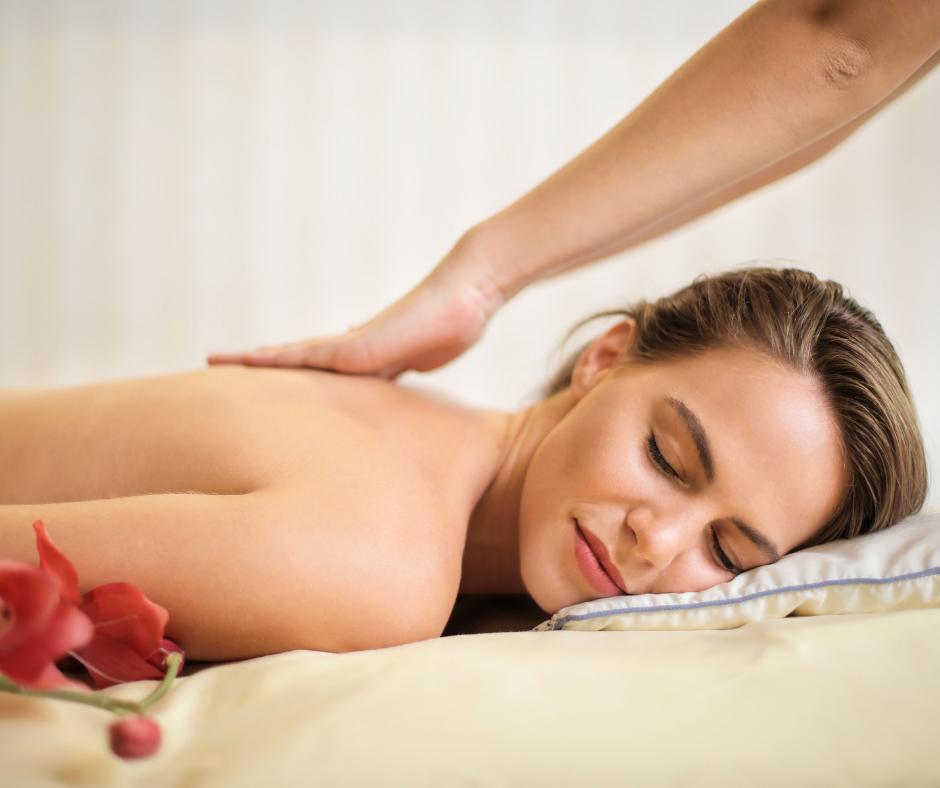 Chakra olie massage, ontspannen massage, energetische massage